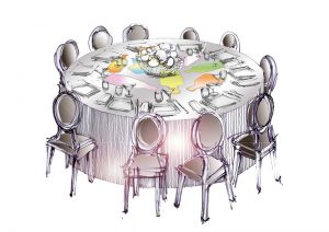 Table-dresse
