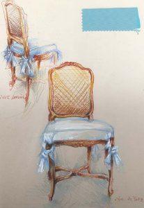 Modèle de chaise