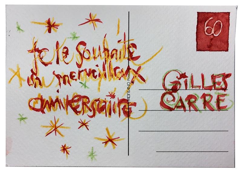 Carte postale rentrée 2020