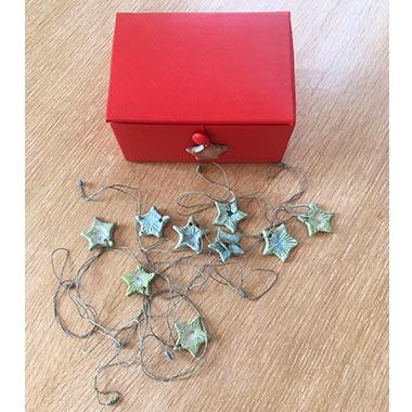 Collier étoiles turquoise