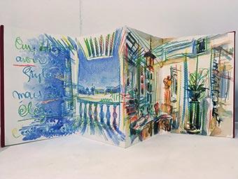 Un carnet de maison, commande de Pierre Passebon réalisée par Philippe Perez pour Jacques Grange
